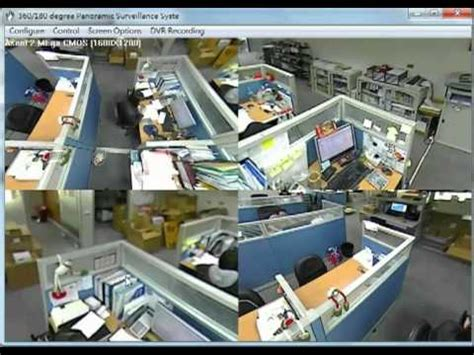 cctv camera 360 degrees view it smart youtube