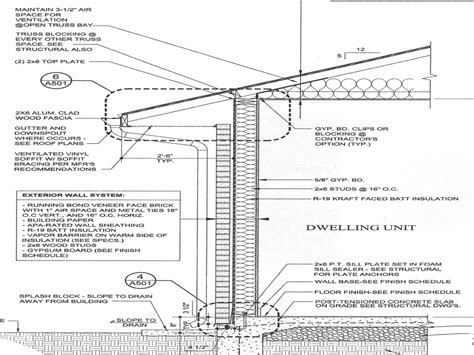 house plan w1911 detail from wall section detail drawing typical wall section detail wood house plan mexzhouse
