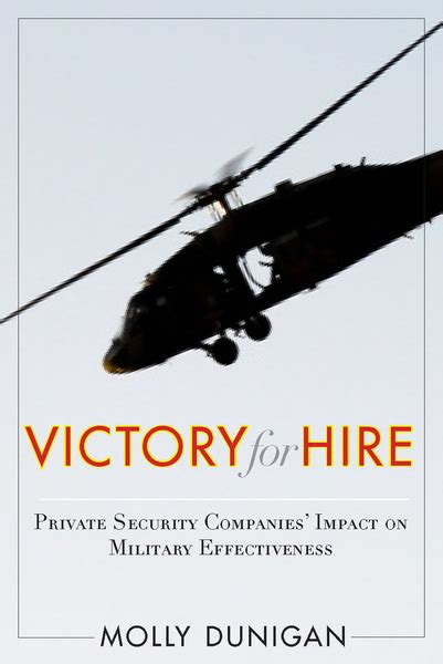 Victory For Hire Private Security Companies Impact On