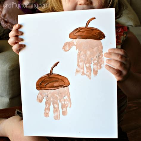 acorn crafts for easy fall crafts that anyone can make happiness is