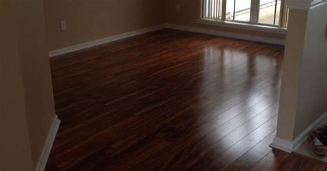 Dining Room, PERGO XP in Hawaiian Curly Koa #PERGO #