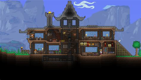 try out terraria house designs margusriga baby party how to make a really cool house in terraria house plan 2017