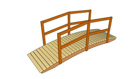 small bridge plans free wooden bridge plans woodworking projects plans