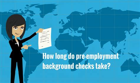 Background Check For Employment How Does It Take Background Check Take