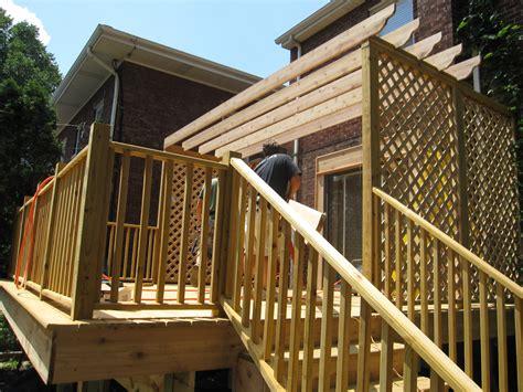 riverside deck pergola view 2 woods home improvements
