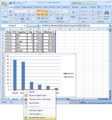 format excel graph with dates advance i t education graph in mircro soft excel 2007