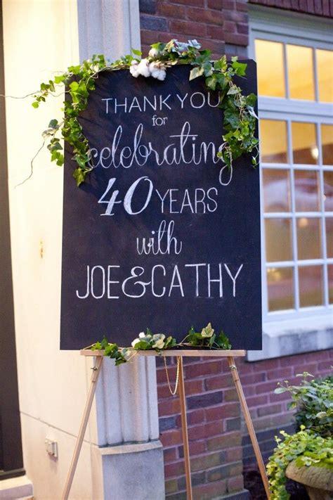 my parents 40th anniversary holidays anniversary chalkboard anniversary
