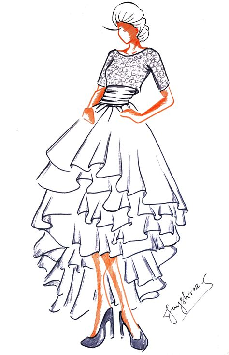 Wardrobe Illustration by Wardrobe Fashion Illustrations And Other Forms