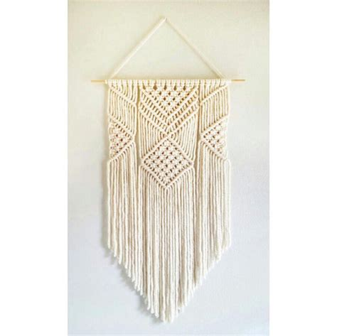 How To Make Handmade Wall Hangings - handmade macrame wall hanging