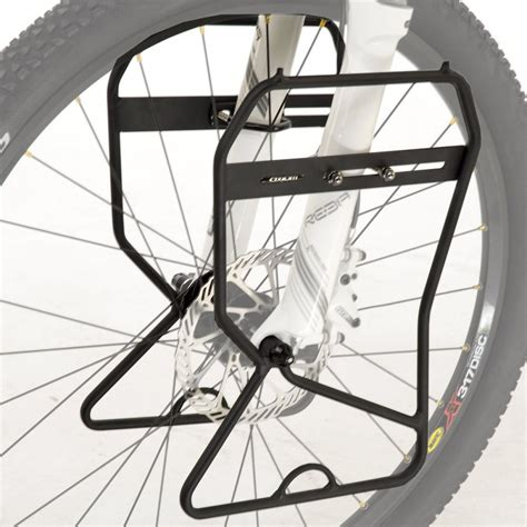 Front Bike Pannier Rack by Practical Cycles Axiom Journey Front Bike Pannier Rack