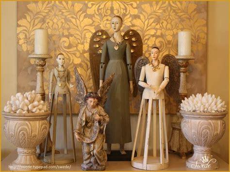 santos  angel  decor   christmas interiors