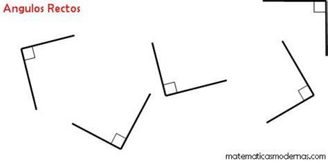 figuras geometricas que tengan angulos rectos angulos rectos matematicas modernas