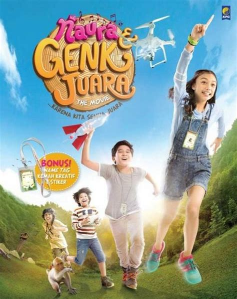 film anak naura dan genk juara bukukita com naura dan genk juara the movie