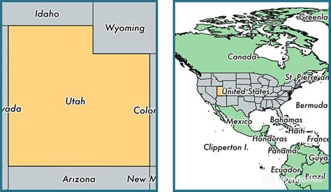 utah on the map of the united states where is utah state where is utah located in the world