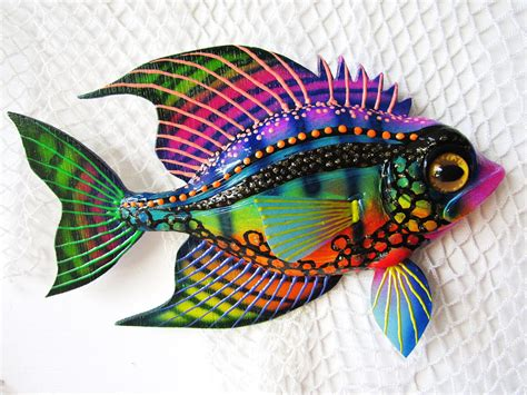 Home Decor With Recycled Materials by Fish Art Wall Sculpture