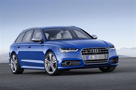 Audi A6 Facelift 2015 by Audi Unveils 2015 A6 Facelifted Range Speed Carz
