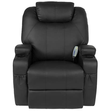 Heated Reclining Sofa by Recliner Sofa Chair Heated W Ergonomic