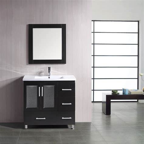 home depot design vanity design element stanton 36 in w x 20 in d vanity in antique white design element stanton 36 quot bathroom vanity espresso