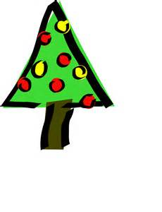 onlinelabels clip art christmas tree