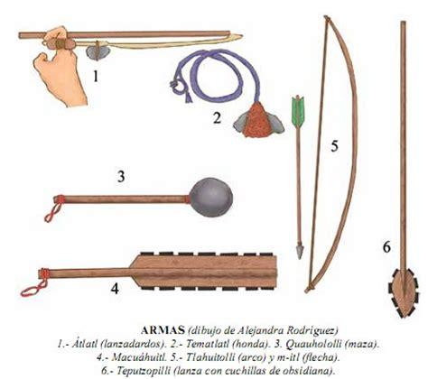 imagenes de armas aztecas los guerreros aztecas taringa