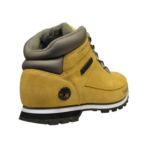 mens boots size 5 timberland timberland sprint wheat nubuck 61556 osf