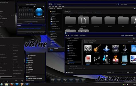 themes for windows 7 desktop blue theme for windows 7 desktop themes