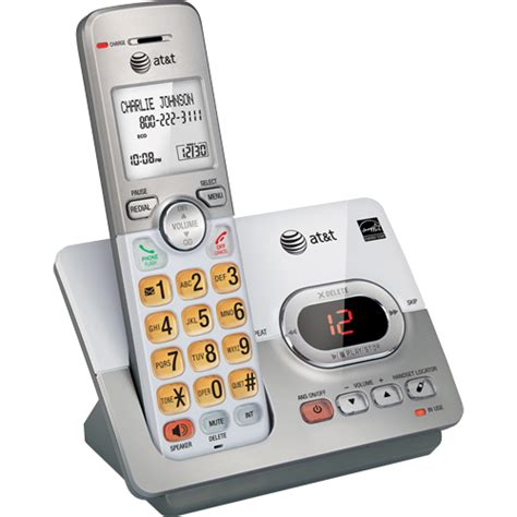 at t dect 6 0 cordless phone with digital answering