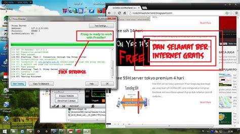tutorial internet gratis ssh indosat tutorial memakai ssh gratis internet