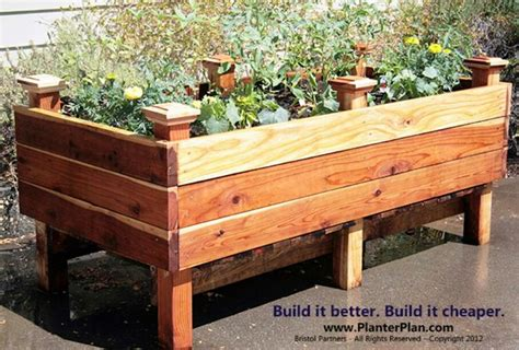 Building A Raised Planter Box by Discover And Save Creative Ideas