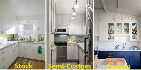 semi custom cabinets kitchen cabinet guide home dreamy