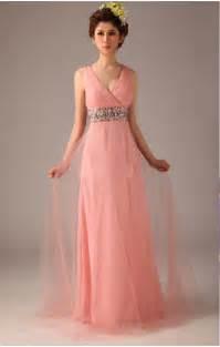 Tulle a line deep v neck pink long prom dress on sale on