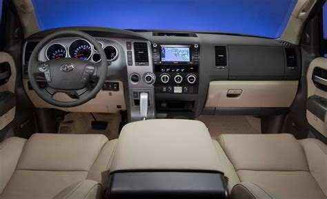Toyota Sequoia Interior by Car And Driver