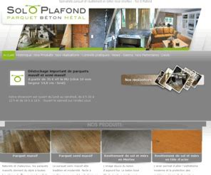 Revêtement De Plafond by Soloplafond Sp 195 169 Cialiste Parquet Et Rev 195 170 Tement En B 195