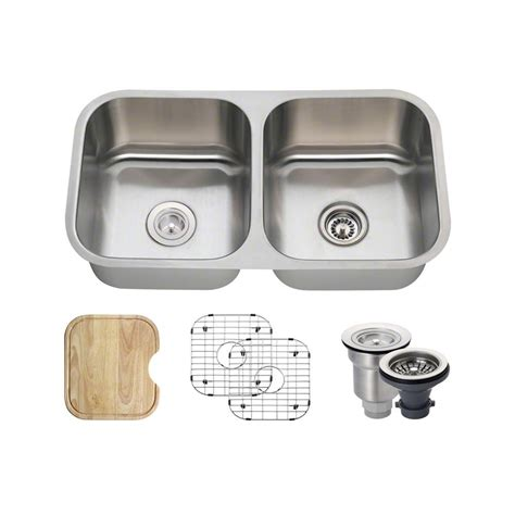 Mr Direct All In One Undermount Stainless Steel 33 In Mr Direct Kitchen Sinks Reviews