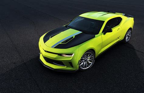 official camaro turbo autox concept  sema  gtspirit