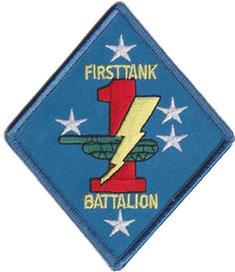 Tnk Marnie Navy 1st tank battalion patch u s marine corps patches