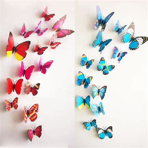 butterflies home decor 3d butterfly wall decor decor ideasdecor ideas