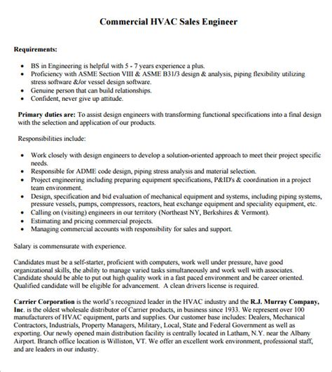 Hvac Resume Sles by Exles Of Hvac Resumes 28 Images Great Hvac Resume Sle