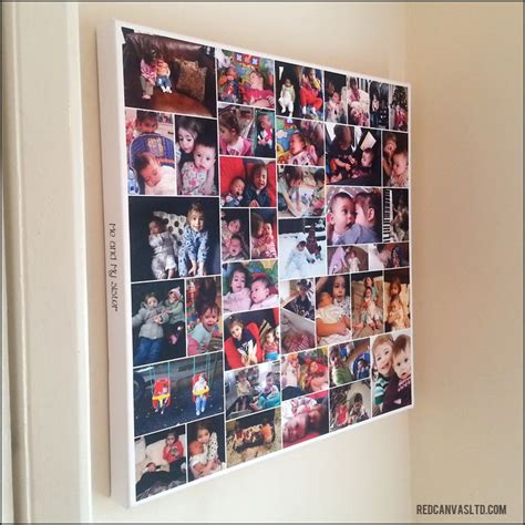 20x20 photo collage design print pin by bernadine truter on wall