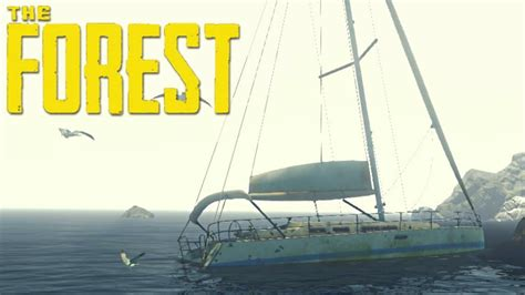 yacht the forest the forest exploring the yacht cassette location