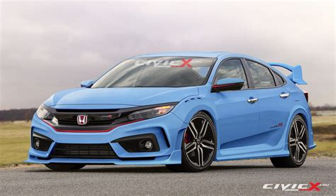 honda civic 2017 type r 2017 honda civic type r looks ready to summon satan in