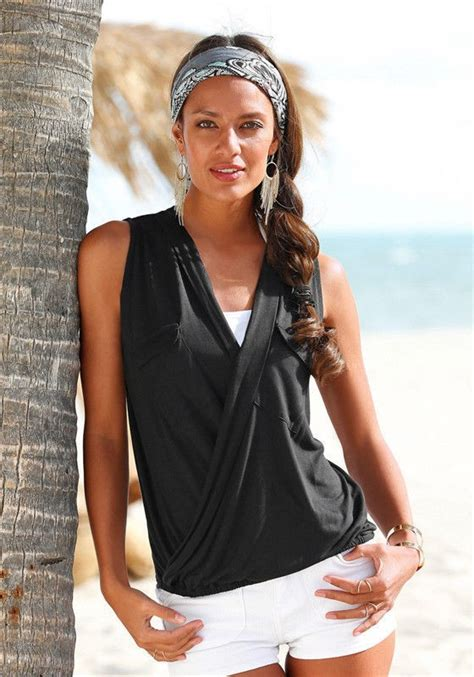 Pengiriman Cepat Baju Jumpsuit Wanita Rompers V Neck Size S 1 baju pantai wanita sleeveless v neck shirt size m blue jakartanotebook