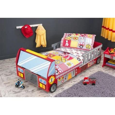 parure de lit pour enfant pompier