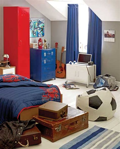 tween boy bedroom football inspired boys room design ideas