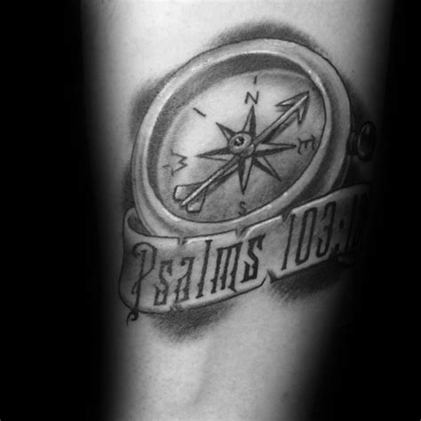 compass tattoo christian meaning 40 small religious tattoos for men spiritual design ideas