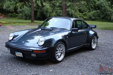 porsche 930 turbo blue 1982 porsche 930 911 turbo 400 hp pacific blue color