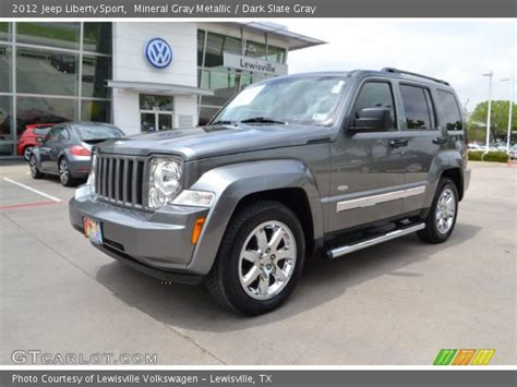 jeep liberty 2012 interior mineral gray metallic 2012 jeep liberty sport