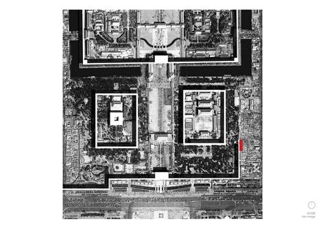 Forbidden City Floor Plan by Cutscapearchitecture Inserts Wall Teahouse Into The