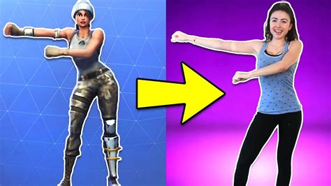 fortnite dances fortnite dances in real