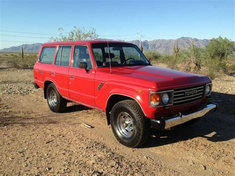 1985 Toyota Mpg Purchase Used 1985 Toyota Landcruiser Fj60 Original Low